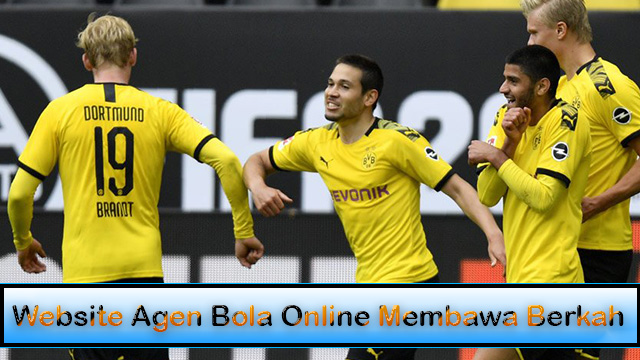 Website Agen Bola Online Membawa Berkah